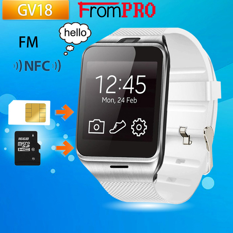 FROMPRO Aplus GV18 Bluetooth multi language Smart Watch Support FM Sim TF Card with 1 3million
