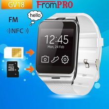 FROMPRO Aplus GV18 Bluetooth multi-idioma de Apoyo Reloj Inteligente Tarjeta Sim TF FM con 1.3 millones de píxeles de la cámara de SISTEMA OPERATIVO Android de teléfono