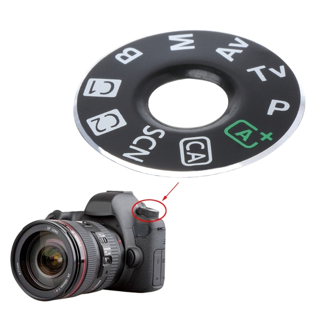 Ootdty Camera Function Dial Mode Interface Cap Button Repair Parts
