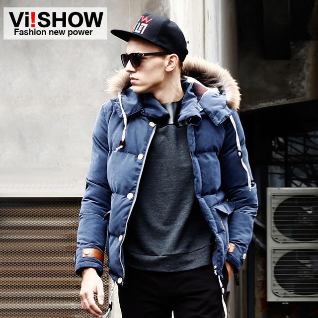 Aliexpress.com : Buy Viishow Winter Duck Down Jacket Men Casual ...