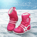 Children's snow boots 2016 winter non-slip waterproof snow boots warm breathable boys and girls down snow boots UOVO brand