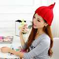 Korea Brand Knitted Pointy Hat Women's Hats Children Skullies Lady Beanies Watermelon Hat Thick Winter Hats For Women And Men