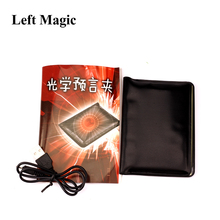 цена 1 Set Light Prediction Holder(Charged Version)- Magic Tricks Optical Prediction Wallet Magic Props Close Up Magic G8080 онлайн в 2017 году
