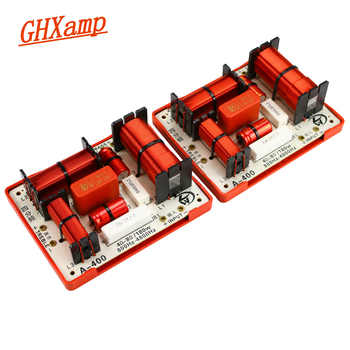 GHXAMP 180W Tweeter MID Dual Bass 4 Way Crossover Audio Board 2 Bass Crossover 800HZ 4800HZ 4-8OHM Speaker Divider 2PCS - DISCOUNT ITEM  21% OFF Consumer Electronics