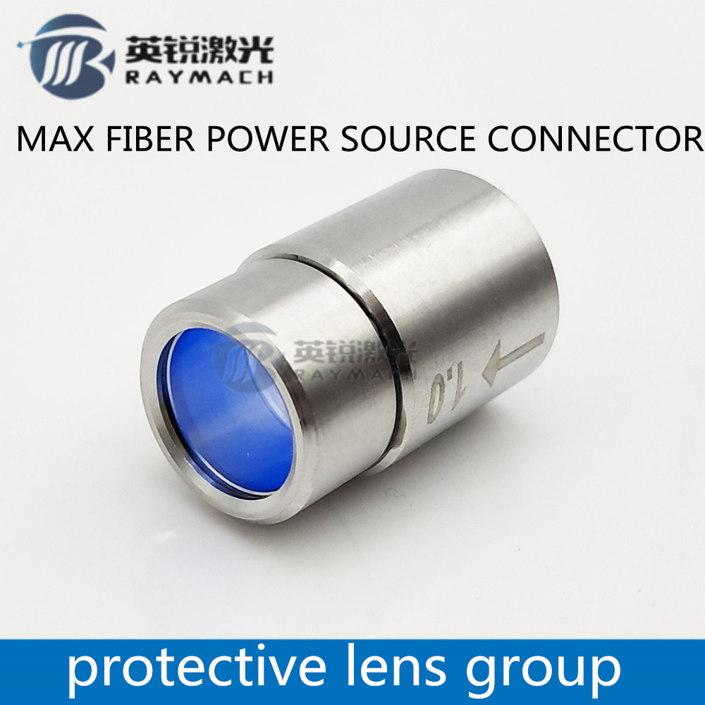 max fiber laser source output connector protective lens group for max fiber power source spare parts-in Woodworking Machinery Parts from Tools    2