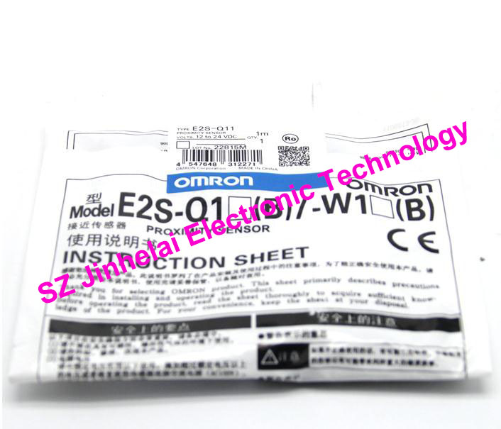 New and original  E2S-Q11,  E2S-Q13  OMRON  Proximity sensor,Proximity switch, 12-24VDC     1M 100% new and original e3x da21 s e3x dac11 s omron photoelectric sensor 2m 12 24vdc