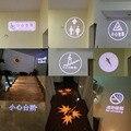 GYLBAB glass gobo LOGO film para e27 logo proyecto luz lámpara publicidad tienda signo habitación número lámpara