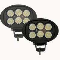 45W Led Work Light Oval 12V Led Driving Light Flood Beam Offroad Lamp for Tractor Off road Truck 4X4 Automobiles 4WD 24V Motor