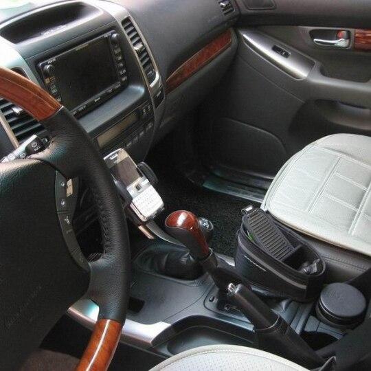 Pour Toyota Land Cruiser Prado LC120 2003-2009 Accessoires Luhuezu 2 pièces En Bois Couleur Automatique Transmission Pommeau de levier De Vitesses