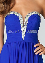 2016 designer royal blue bridemaid purple dress! New style evening/party/ dress ! Unique Style! Bling! Shinning