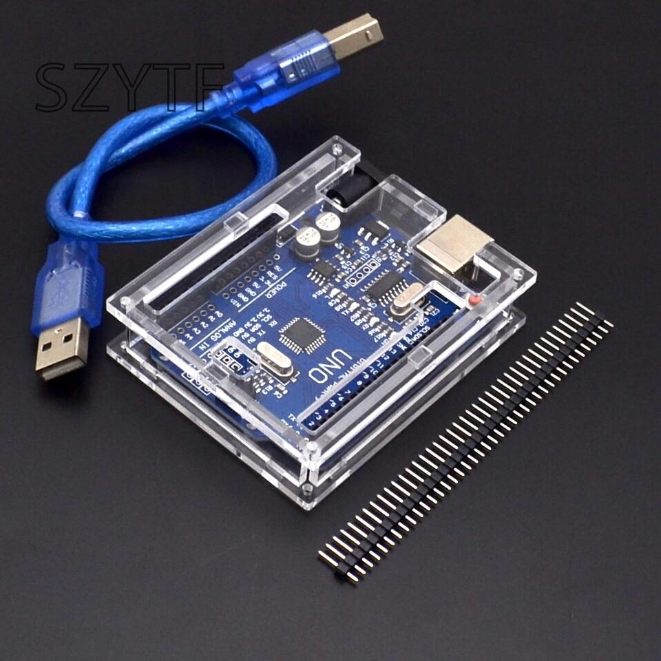 Smart Electronics UNO R3 Mega328P CH340G Development Board For Arduino Diy Starter Kit Send Shell For Arduino Uno