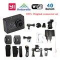 International Version!! Xiaomi YI WIFI Sport Action Camera 16MP 60FPS Ambarella Bluetooth4.0  Waterproof  xiaoyi Connector Set