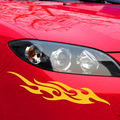 Flame Pattern Car Stickers Can Be Used For Bumper Scratches Cobbra Vehicle Car Scratch 2 Price