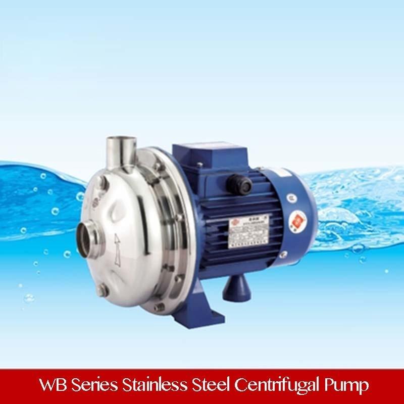 3.5HP prix bas montage en Surface pompe à eau en acier inoxydable 40ltr/min 380 V triphasé
