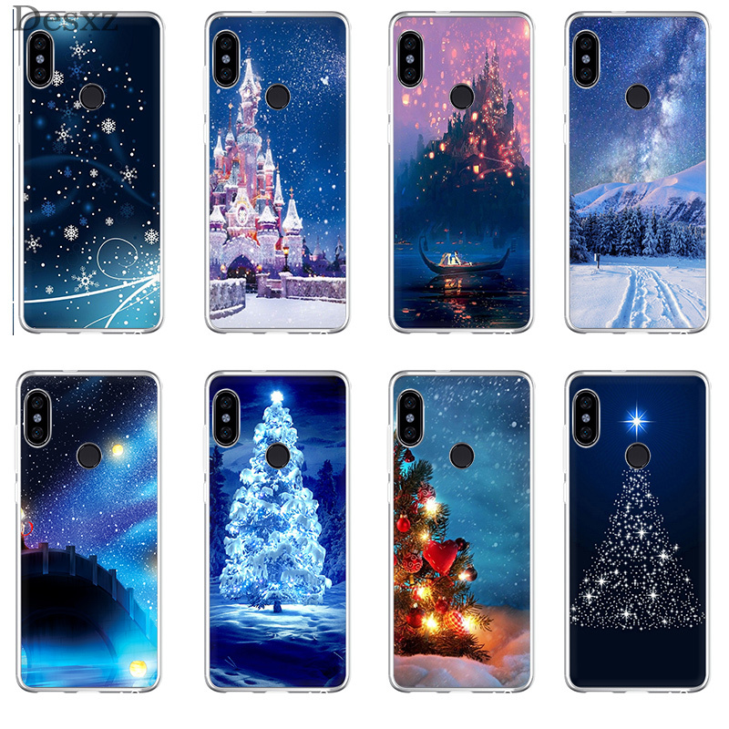 Online Shop Phone Case Christmas Wallpaper For Xiaomi Redmi