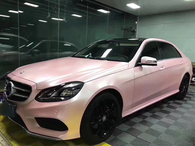 High Quality Pearl Metallic Sakura Pink Vinyl Wrap Film Car Wrap Foil For Car  Sticker With Air Free Bubble Size 1.52x20M Roll 70e46d70f20b