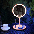 Alta Calidad LED Maquillaje Espejo Sobremesa Espejo de Maquillaje Con Luz LED Espejo Estilo Rodeado de Belleza Con Luz LED