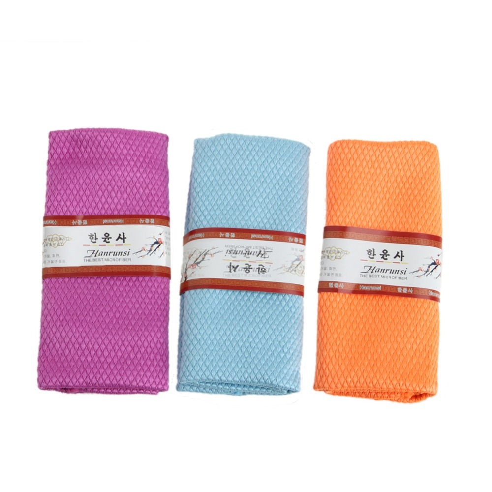 Microfiber Dish Rags: 3pcs/pack Microfiber Kitchen Cleaning Small Towel Dish
