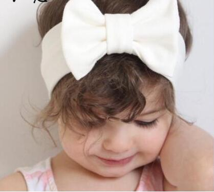 JRFSD Cotton Knot Elastic Headband for Girls Wide Hair Bands Aksesori - Aksesori pakaian - Foto 6