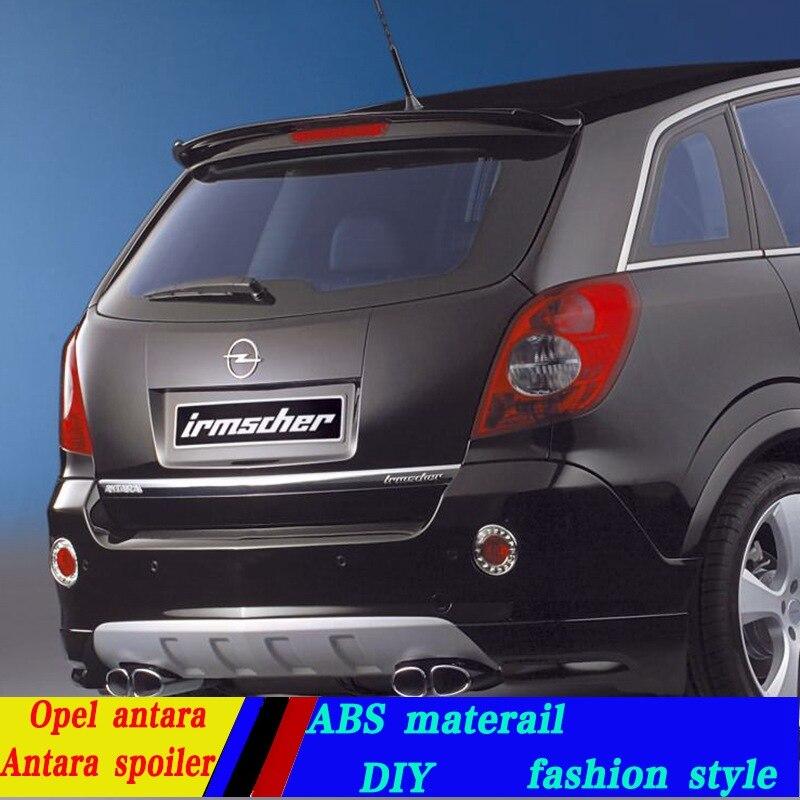 Use For Opel Antara Spoiler Abs Primer Unpainted Color Car
