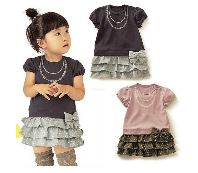 f4ece7cd36cb 2012 New arrival fashion cute baby girl s short sleeve shirt summer ...