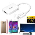 MHL 1080P Micro USB MHL to HDMI Adapter HDTV Cable For Samsung S3 S4 S5 Note 2 3 4 Tab 3 P5200 T310