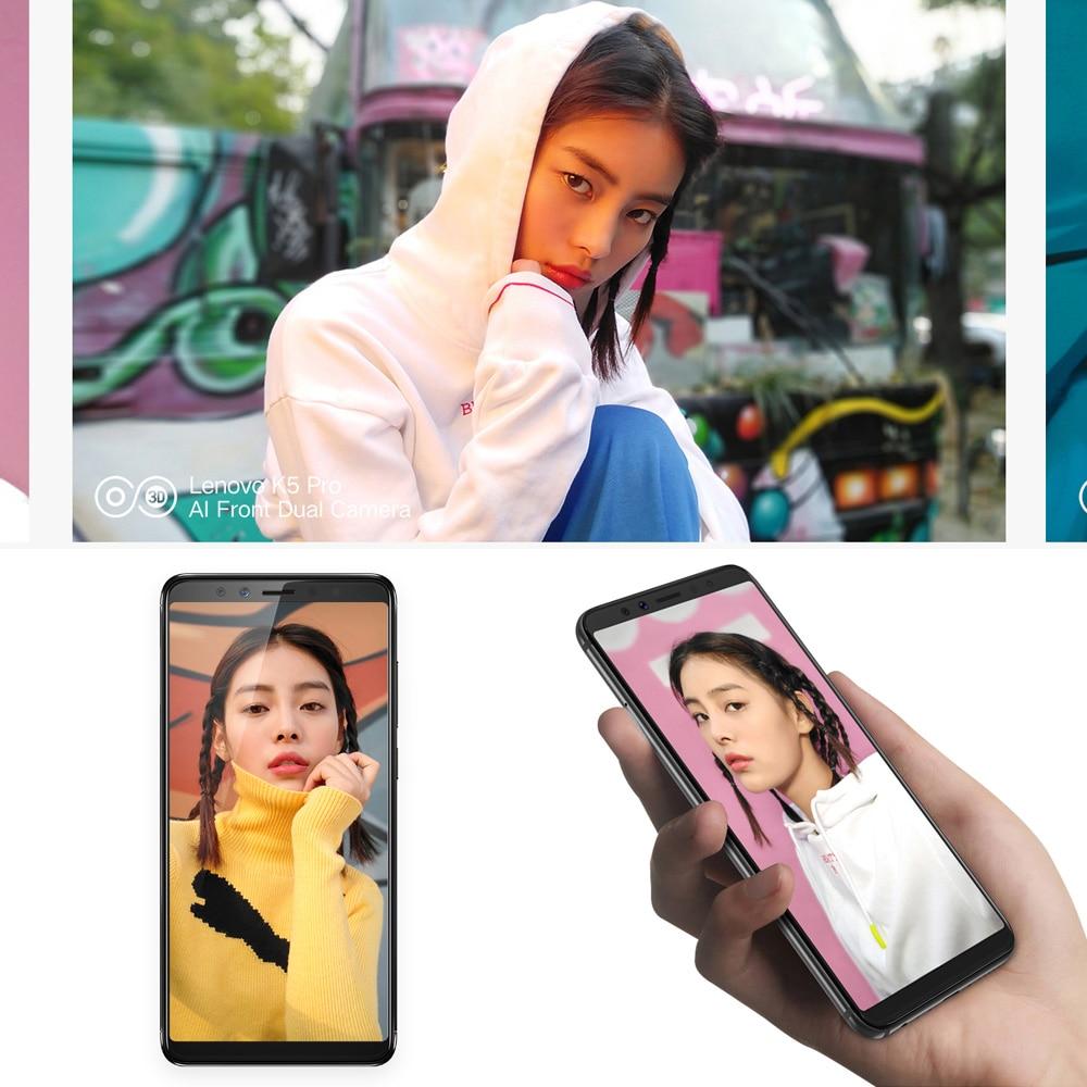 Global Version Lenovo K5 Pro 4GB 64GB Snapdragon636 Octa Core Smartphone Four Cameras 5.99inch 189  4G LTE Phones 4050mAh (7)
