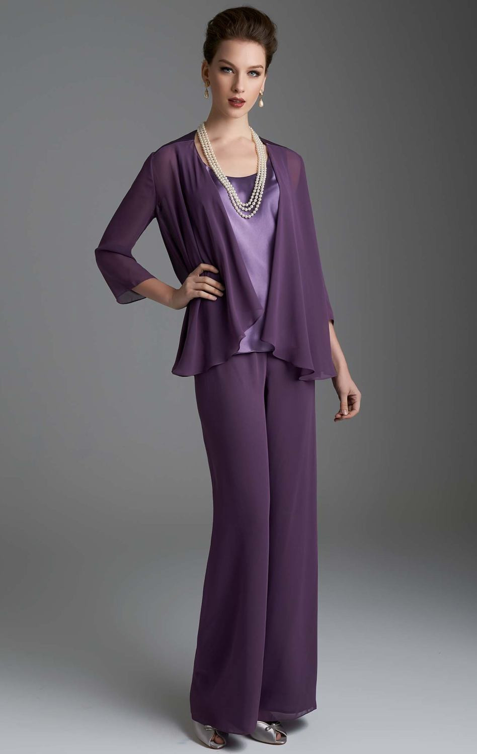 3 Piece Mother of the Bride Pant Suits | Dress images