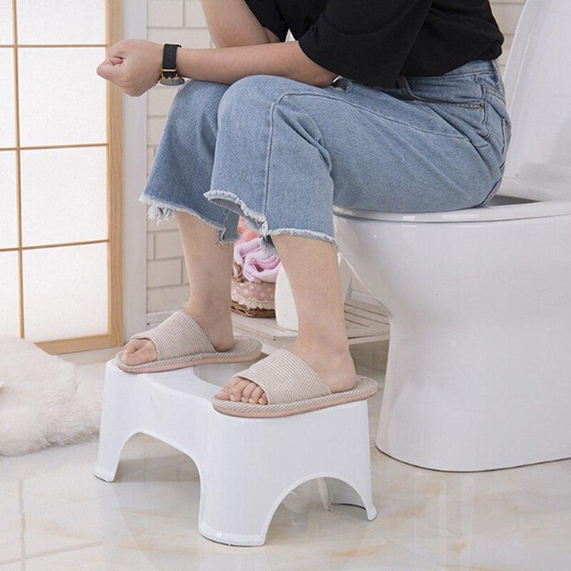 Squatty Potty Plastic Thickened Toilet Stool Step Stool