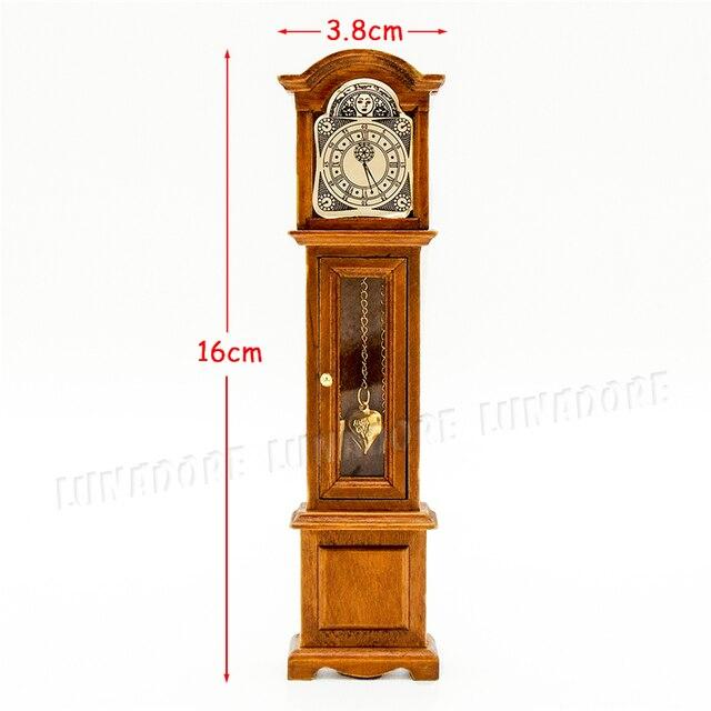 Odoria miniature meubles vintage grand p re horloge tage for Le pere du meuble furniture