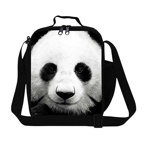 """Dispalang персонализированные портативный изоляцией """"ланч-бокс"""" panda животных шаблон путешествия обед сумка-холодильник студент питания сумка"""