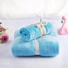 2pcs towel set hand 30*30cm bath towels 34*80cm no pilling super absorbent big Quick Dry microfiber