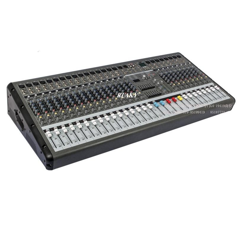 US $479 0  Best Price All in One Professional Studio Audio DJ Mixer 24  Channel Stage Performance and Equalizer Integration Effects-in Karaoke  Player