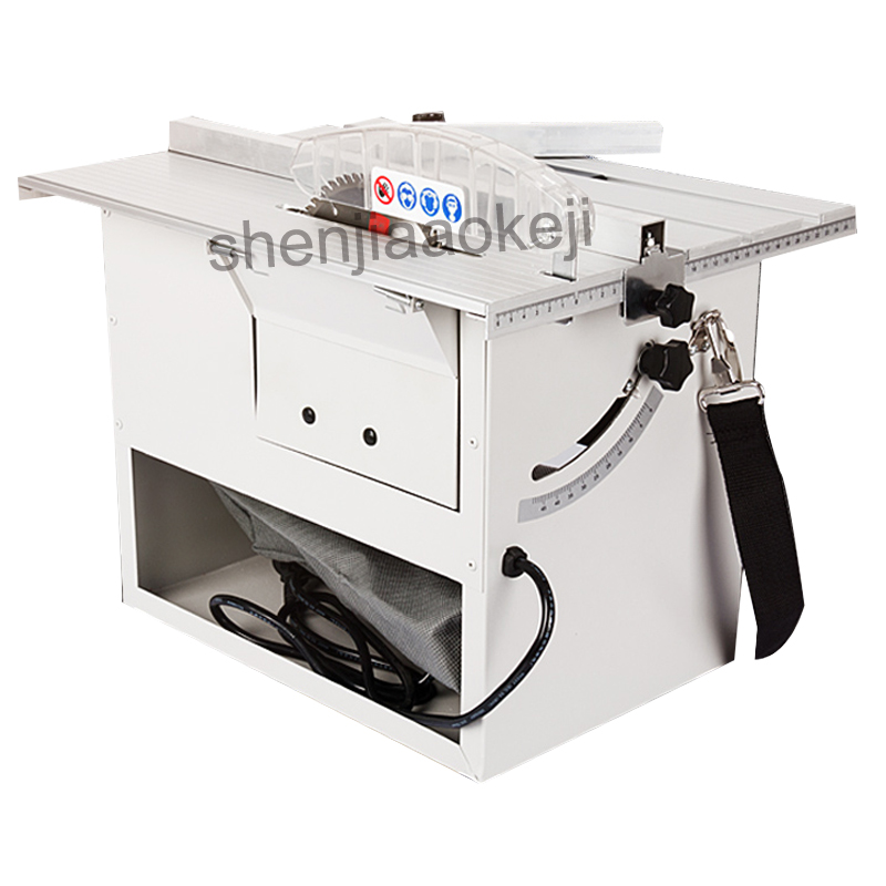 Multifunctional woodworking floor dust-free chainsaw sliding table saw Wood floor dust-free saw multi-function cutting machine