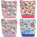 Cartoon Zero Wallet Cute Cartoon PU HELLOKITTY Leather Printing Zero Wallet