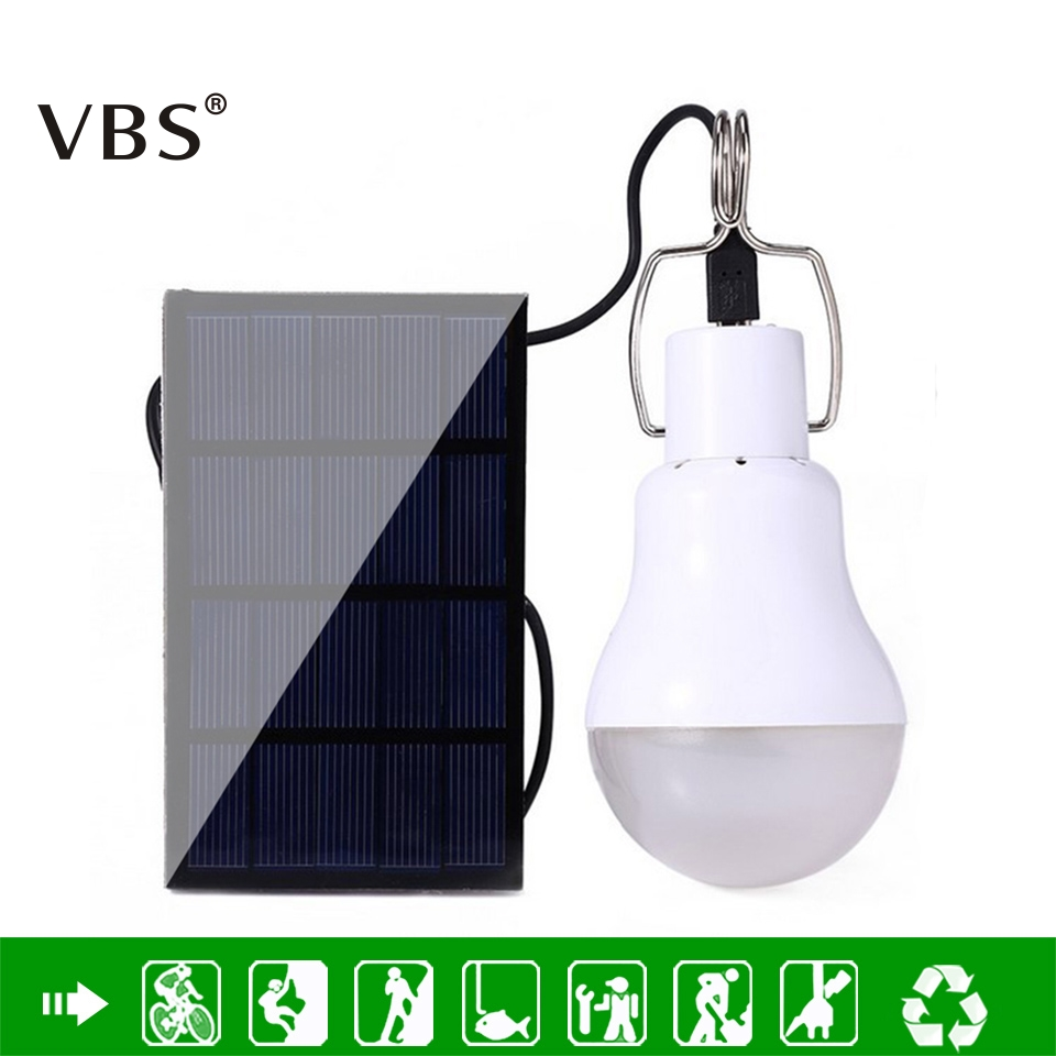 LED Solar Powered Portable Led Lampa Lampa Solenergi Lampa LED Belysning Solar Panel Light Camping Light Equivalent To 15w