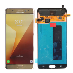 Image 2 - ORIGINAL 5.7 LCD For SAMSUNG GALAXY Note 7 Note FE N930 N930F Display Touch Screen Digitizer Assembly Replacement With Frame