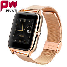 PINWEI Bluetooth Smart Watch 2G Internet NFC Wristwatch Support SIM Card Wearable Devices SmartWatch for Apple