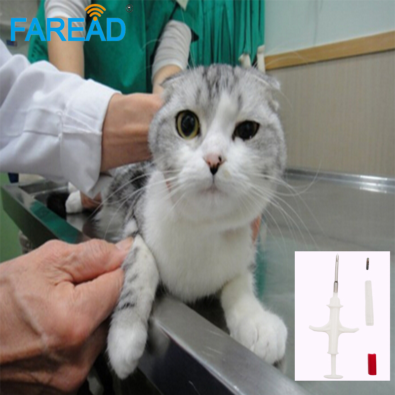 Whole Sale X2000pcs RFID 2.12*12mm FDX-B Animal ID Microchip Syringe Rfid Animal Injector Tag For Pet