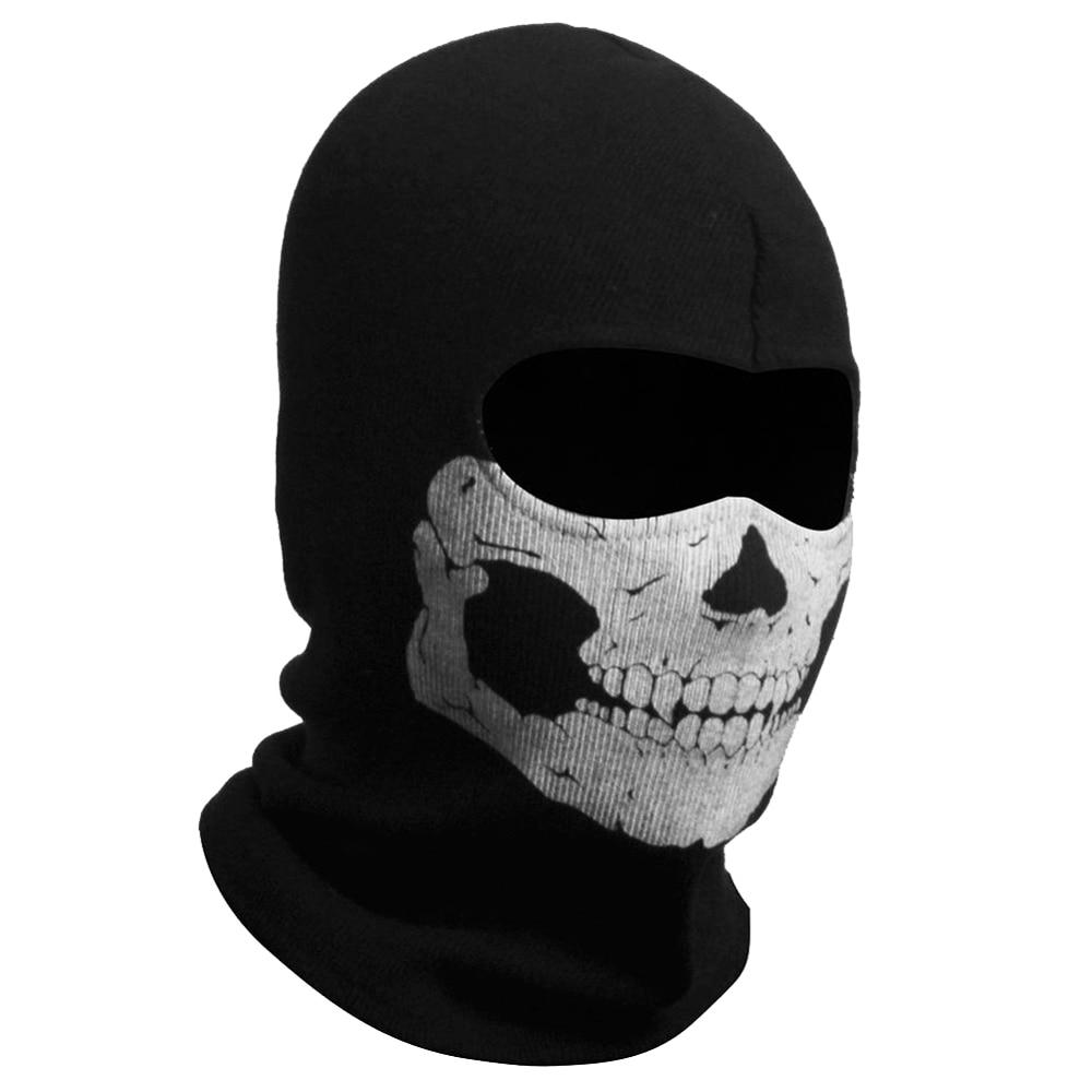 Ghost Skull Balaclavas Skiing Airsoft Paintball Sports Game ...