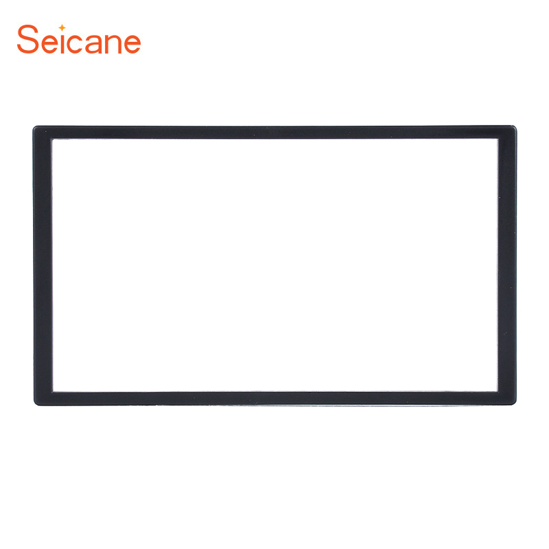 Seicane Universal 173*98mm <font><b>2</b></font> <font><b>DIN</b></font> Car Radio Fascia for Honda Accord Civic Odyssey Prelude Dash Trim DVD Player Frame image