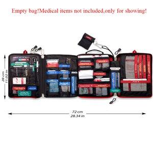 Image 2 - Botiquín de primeros auxilios profesional de 4 capas, bolsa de primeros auxilios de gran calidad, armario de supervivencia, bolsa de rescate de viaje grande