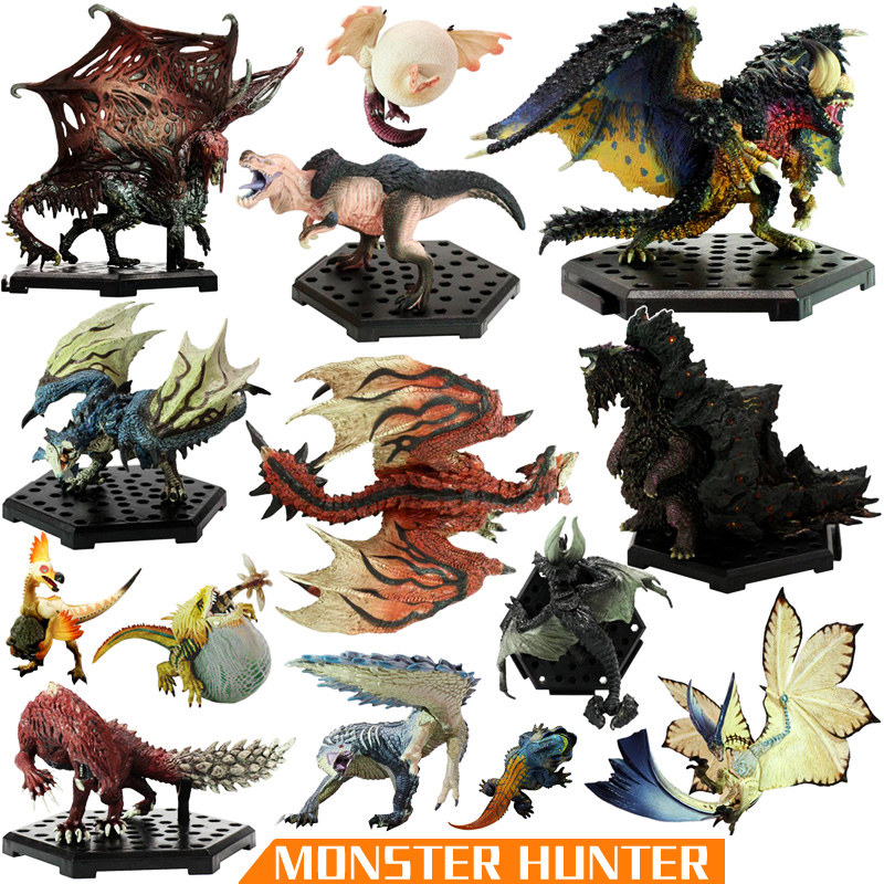 41pcs Japan Anime Monster Hunter Xx Figure Pvc Models Hot Dragon Action Figure Decoration Toy Model Collection Children Toy Gift