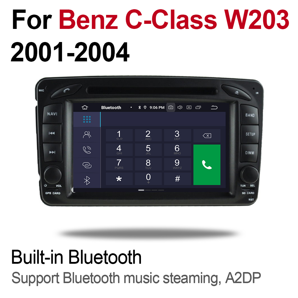 For Mercedes Benz A Class W168 1997 2004 NTG 2 DIN Car Android 9 GPS Navigation Multimedia system WIFI Bluetooth Radio Amplifier in Car Multimedia Player from Automobiles Motorcycles