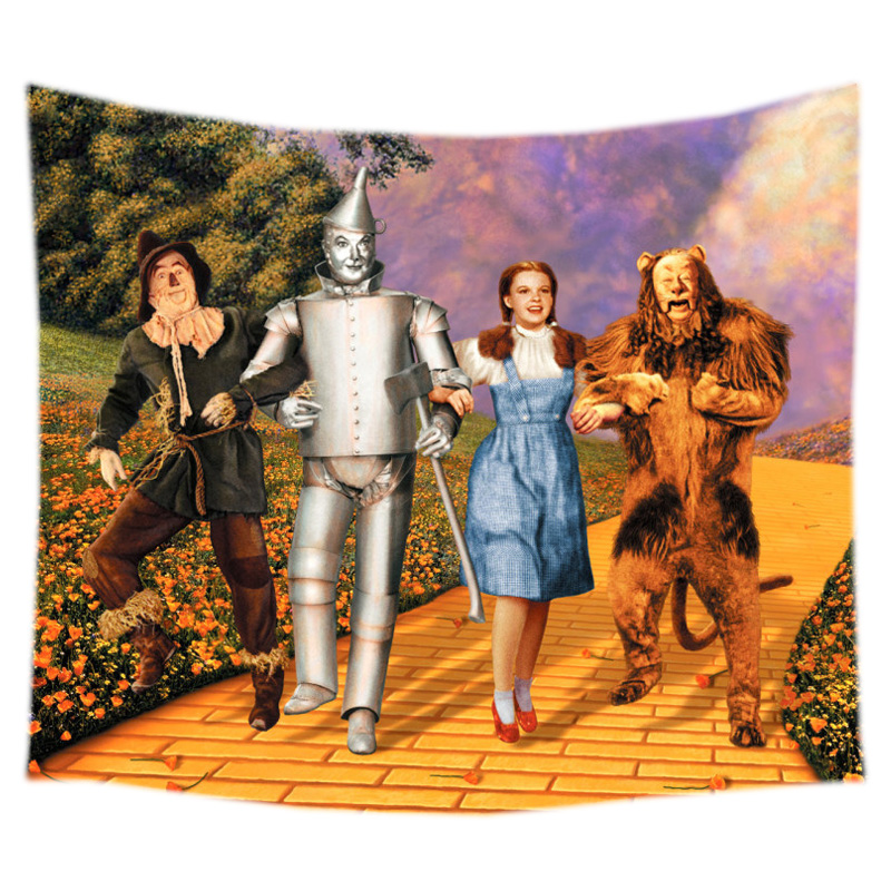 The Wizard of Oz Wall Hanging Tapestry Bed Manta Yoga Mat Beach ...