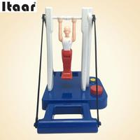 Table Horizontal Bar Toys Gymnast Game Children Kids Adult Interactive Toy Gift