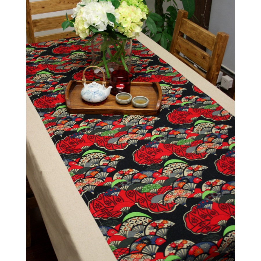 Chinese Folk Style Fluid Patchwork Dining Table Cloth Japanese Style  Quality Fabric Decoration Tablecloth Table Cloth Fan In Tablecloths From  Home U0026 Garden ...