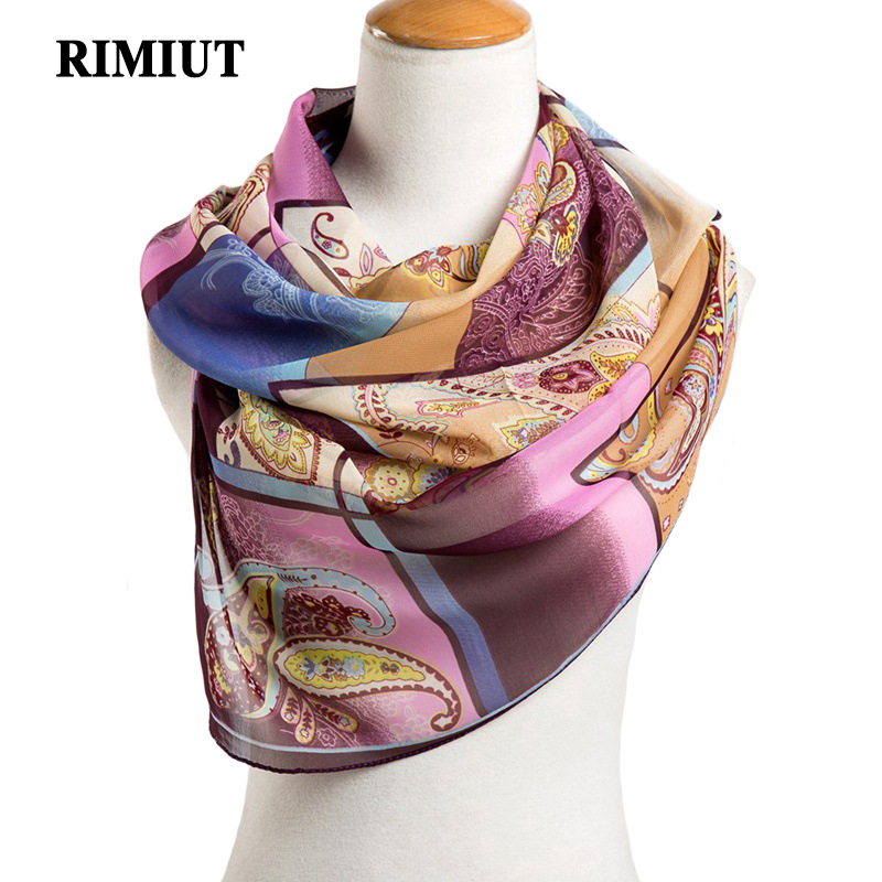 RIMIUT New 2017 Womens Fashion Chiffon Scarf Geometric Thin Shawl In Autumn Summer Women shawl girls bufanda Scarves
