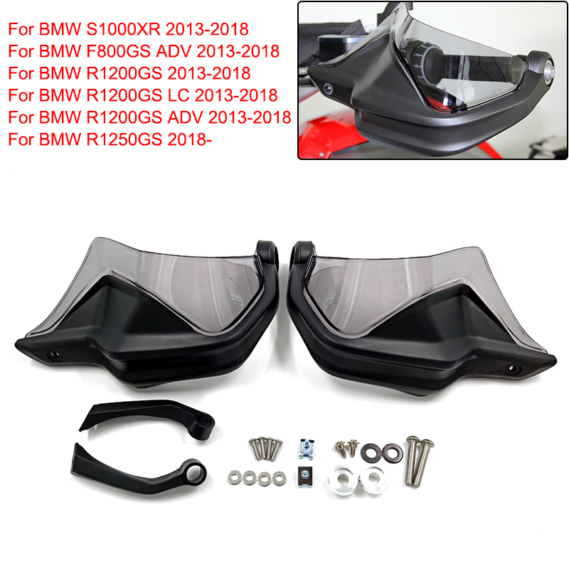 2019 Handguard Hand shield Brake Clutch Levers Protector Windshield For BMW <font><b>R1200GS</b></font> F800GS <font><b>Adventure</b></font> S1000XR R1200 GS <font><b>LC</b></font> R1250GS image