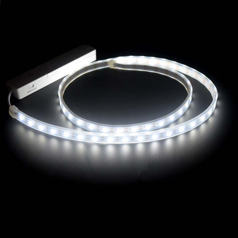 2pcs Led Strip 60leds M Flexible Warm White Led Lamp Aaa